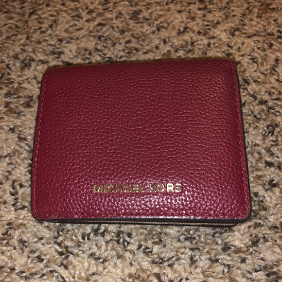 Michael Kors Handbags - Michael Kors red small wallet